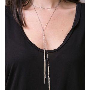 Vanessa Mooney Dirty Deeds Chain Wrap Necklace